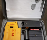 95. Putkilaaseri, PLS5, putkitusten vaakatason mittaukseen