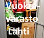 Pienvarasto, vuokravarasto, minivarasto, n. 4 m² : 002lahck