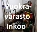 Pienvarasto, vuokravarasto, minivarasto, n. 4,5 m² : 129inko