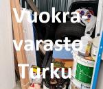 Pienvarasto, vuokravarasto, minivarasto, n. 4 m² : 692tkup
