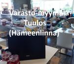Varasto-myymälän tavarat, katso video, tila n 125 m²   000TUU