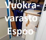 Pienvarasto, vuokravarasto, minivarasto, n. 2 m² : 129kivc