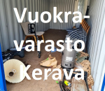 Pienvarasto, vuokravarasto, minivarasto, n. 14 m² : 040kerc