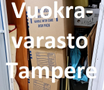 Pienvarasto, vuokravarasto, minivarasto, n. 4 m² : 125trevc