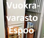 Pienvarasto, vuokravarasto, minivarasto, n. 3 m² : 259klob